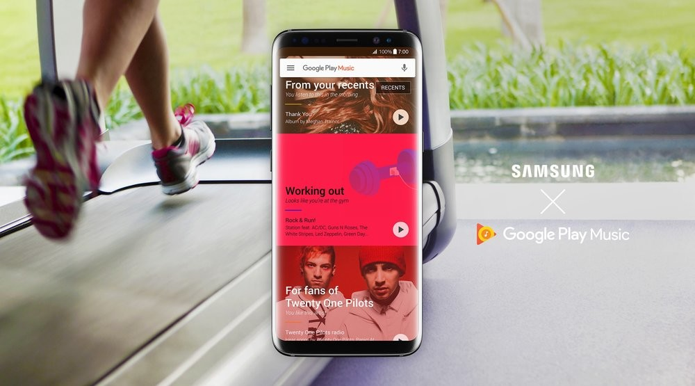 f4052aa0f78 Google Play Music to be default on all new Samsung devices  offers double  free storage